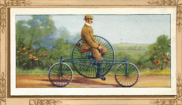 Cigarette Card「Coventry Rotary Tricycle」:写真・画像(19)[壁紙.com]