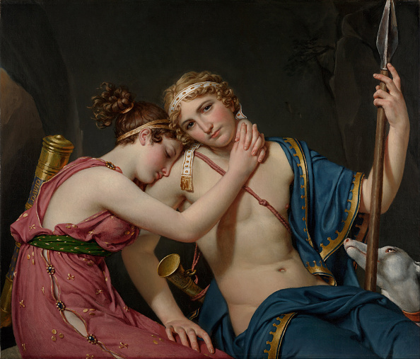 Painted Image「The Farewell Of Telemachus And Eucharis」:写真・画像(3)[壁紙.com]