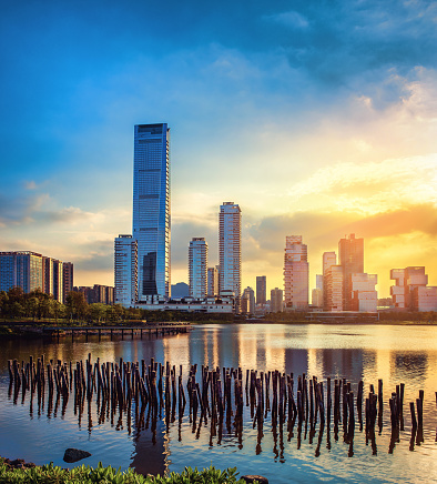 都市「Shenzhen city, guangdong province scenery」:スマホ壁紙(2)