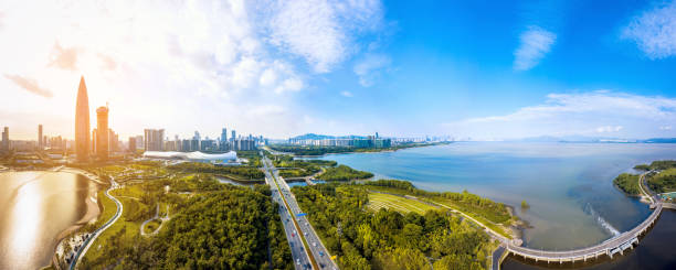 Shenzhen city, guangdong province scenery:スマホ壁紙(壁紙.com)
