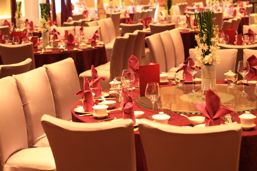 Party - Social Event「Chinese style Wedding reception tables」:スマホ壁紙(19)