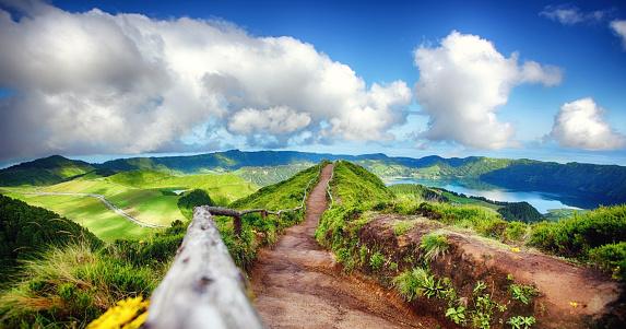 Island「Sete Cidades viewpoint」:スマホ壁紙(18)