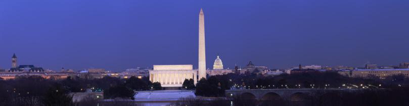 Washington DC「Panorama of Washington DC」:スマホ壁紙(18)