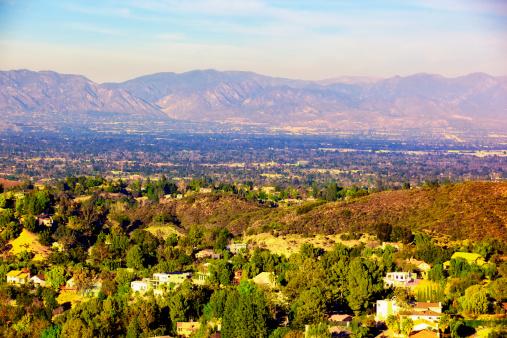Hill「Panorama of San Fernando Valley Los Angeles California」:スマホ壁紙(16)