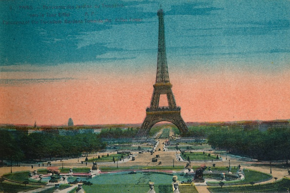Tourism「Panorama Of The Jardins Du Trocadero And The Eiffel Tower」:写真・画像(8)[壁紙.com]