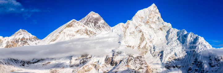 Khumbu「Panorama of Mount Everest」:スマホ壁紙(9)