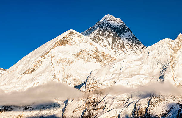 Panorama of Mount Everest:スマホ壁紙(壁紙.com)