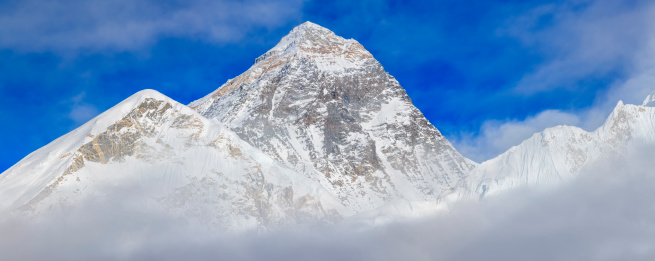 Khumbu「Panorama of Mount Everest」:スマホ壁紙(13)