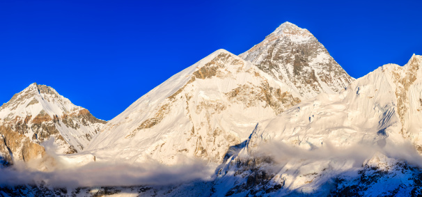Khumbu「Panorama of Mount Everest」:スマホ壁紙(7)