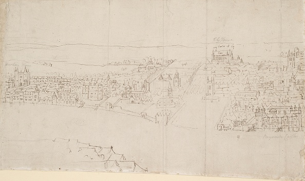 Copy Space「Panorama Of London As Seen From Southwark: Durham House To Barnards Castle,」:写真・画像(1)[壁紙.com]
