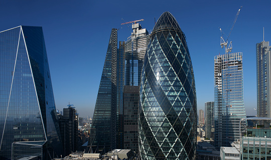 Dizzy「Panorama of the City of London Financial district」:スマホ壁紙(13)
