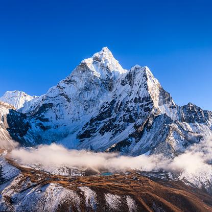Khumbu「Panorama of Mount Ama Dablam in Nepal, Himalayas」:スマホ壁紙(19)