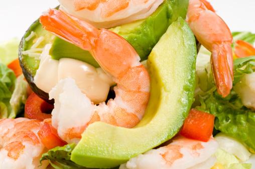 Vinaigrette Dressing「Avocado with shrimps salad」:スマホ壁紙(13)