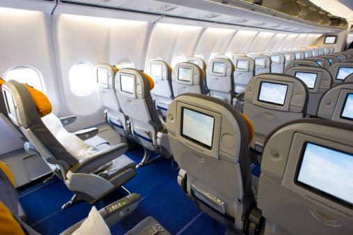 Economy Class「Airplane interior」:スマホ壁紙(16)