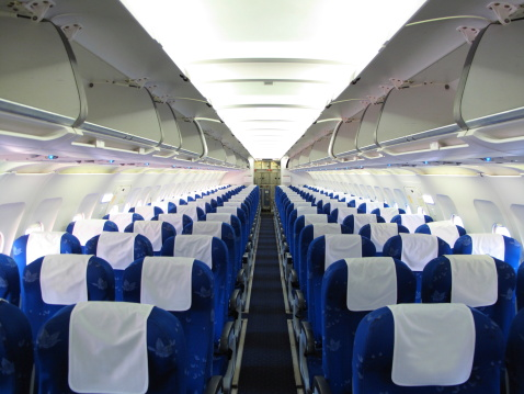 Airplane Seat「airplane interior」:スマホ壁紙(4)