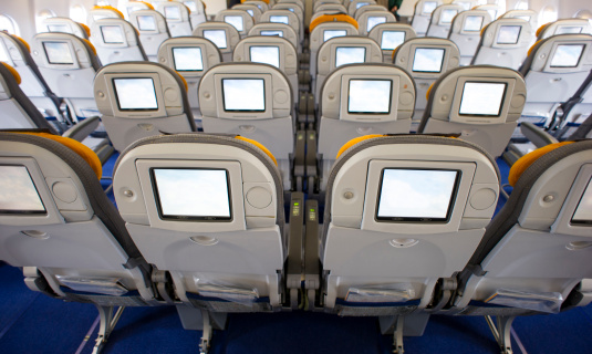 Economy Class「Airplane interior」:スマホ壁紙(19)