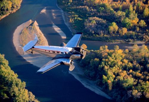 Beechcraft「Airplane in flight」:スマホ壁紙(12)