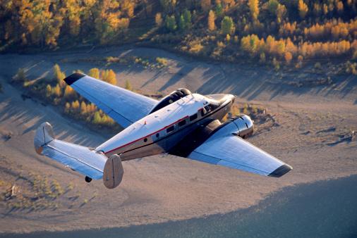 Beechcraft「Airplane in flight」:スマホ壁紙(4)