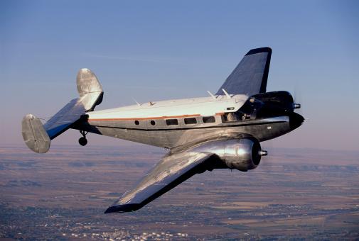 Beechcraft「Airplane in flight」:スマホ壁紙(11)