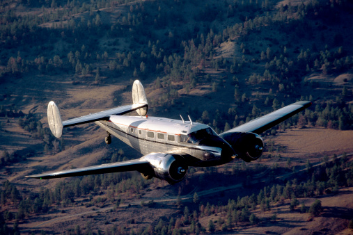 Beechcraft「Airplane in flight」:スマホ壁紙(14)