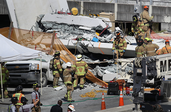 Bridge - Built Structure「Multiple Fatalities Reported After Collapse Of Pedestrian Bridge In Miami」:写真・画像(12)[壁紙.com]