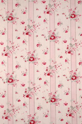 Floral Pattern「Limoge Wide Antique Floral Fabric」:スマホ壁紙(2)