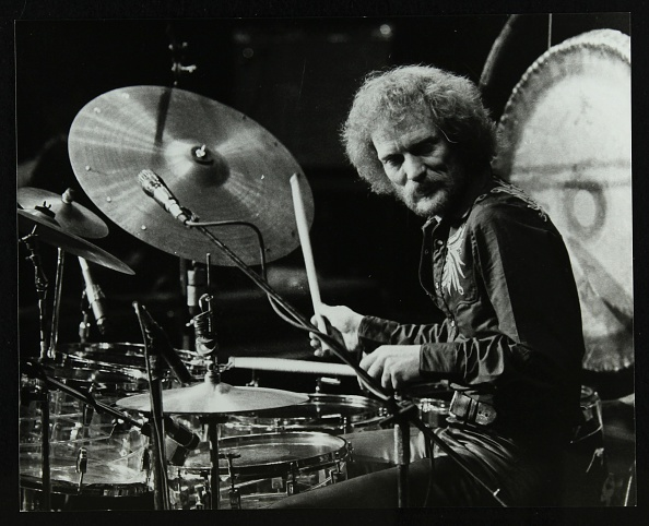 Drummer「Drummer Ginger Baker performing at the Forum Theatre, Hatfield, Hertfordshire, 1980. .」:写真・画像(17)[壁紙.com]