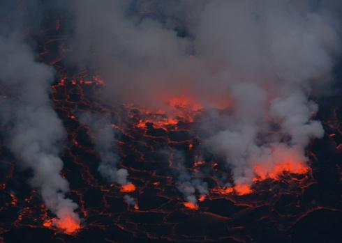 Goma「Nyiragongo volcano」:スマホ壁紙(12)