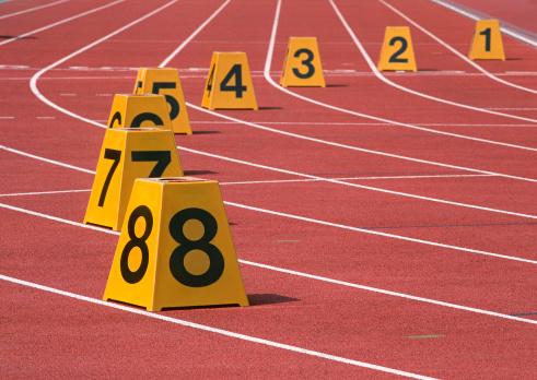Track and Field Stadium「Lane Number Mark」:スマホ壁紙(9)