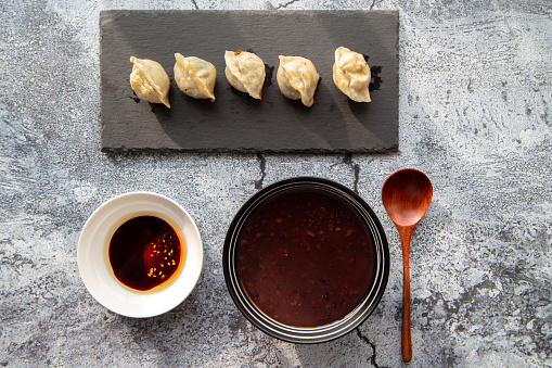 Chili Sauce「Chinese fried Fried dumplings」:スマホ壁紙(11)