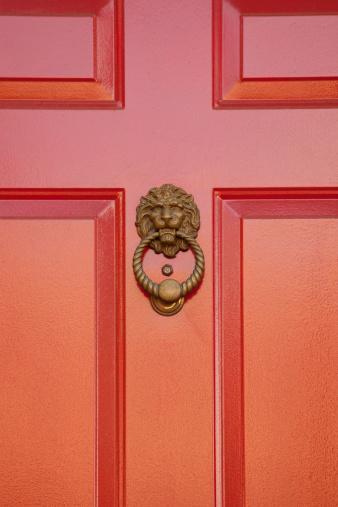 Peephole「Lion Door Knocker」:スマホ壁紙(3)