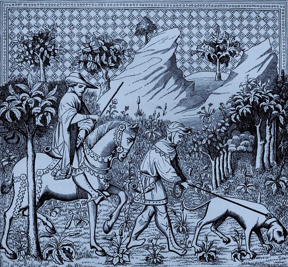 Scented「Nobleman in hunting costume on horseback, 15th」:写真・画像(10)[壁紙.com]