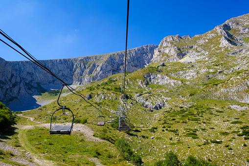 Ski Lift「Montenegro, Durmitor National Park, Durmitor massif, chairlift at Savin kuk」:スマホ壁紙(18)
