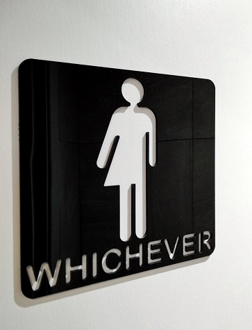 Gender Symbol「Gender-neutral bathroom sign」:スマホ壁紙(11)