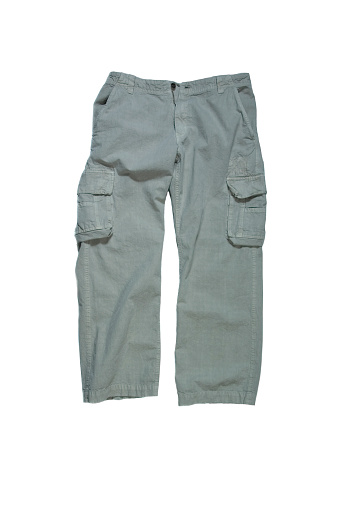 Haute Couture「Men's Cargo Pants - Stone Colored on White Background」:スマホ壁紙(10)