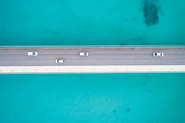 Sea and bridge.:スマホ壁紙(壁紙.com)