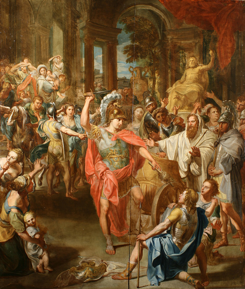 Baroque Style「Alexander The Great Cutting The Gordian Knot.」:写真・画像(19)[壁紙.com]