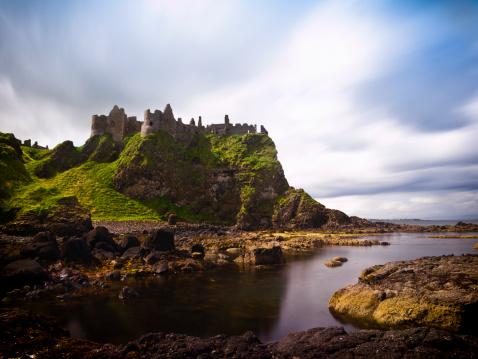 County Antrim「Dunluce castle」:スマホ壁紙(15)