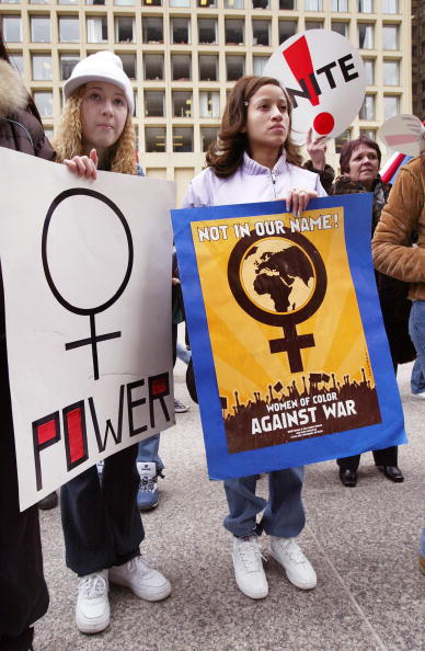 Tim Boyle「Chicago Marches In Honor Of International Women's Day」:写真・画像(2)[壁紙.com]
