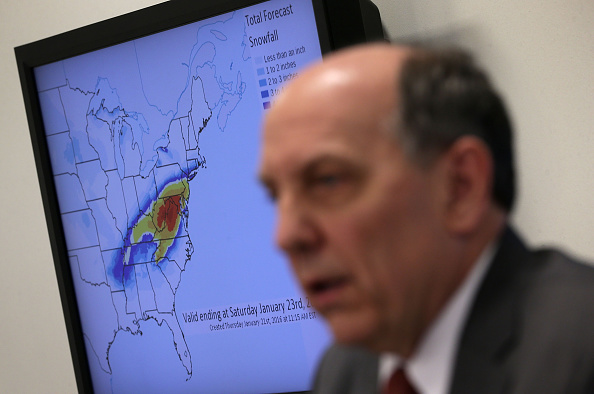 2016 Winter Storm Jonas「NOAA Holds News Conference On Impending Winter Storm On East Coast」:写真・画像(4)[壁紙.com]