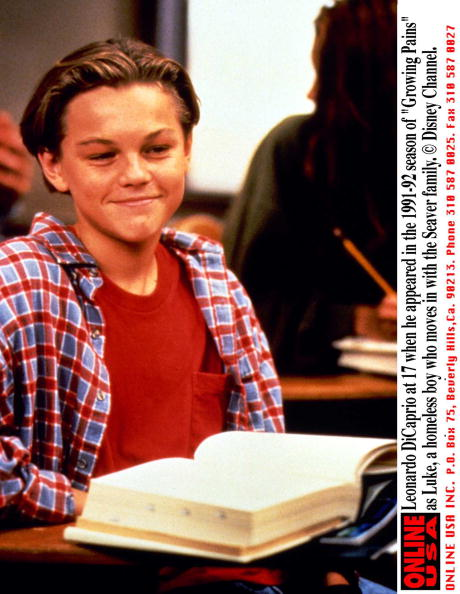 Boys「Leonardo Dicaprio At 17 When He Appeared In The 1991 92 Season Of Growing Pains As Luke A Homeles」:写真・画像(6)[壁紙.com]