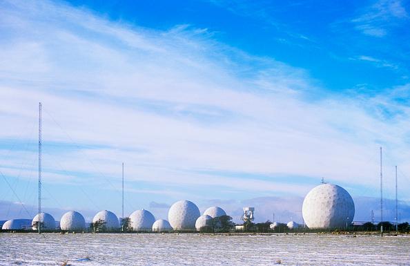 Golf Ball「An early warning radar and listening station on the moors above Harrogate, Yorkshire, UK」:写真・画像(11)[壁紙.com]