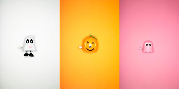 ハロウィン おばけ「Halloween Wind up Toys」:スマホ壁紙(7)