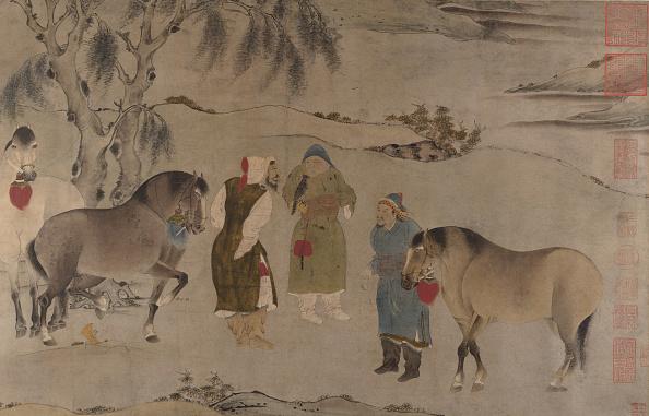 Circa 14th Century「Six Horses」:写真・画像(1)[壁紙.com]