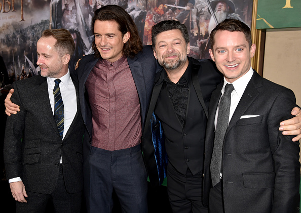 "Textured「Premiere Of New Line Cinema, MGM Pictures And Warner Bros. Pictures' ""The Hobbit: The Battle Of The Five Armies"" - Red Carpet」:写真・画像(8)[壁紙.com]"