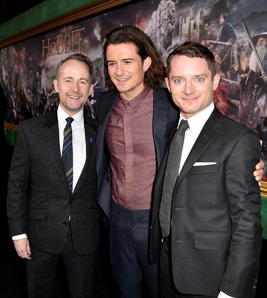 オーランド・ブルーム「Premiere Of New Line Cinema, MGM Pictures And Warner Bros. Pictures' 'The Hobbit: The Battle Of The Five Armies' - Red Carpet」:写真・画像(15)[壁紙.com]