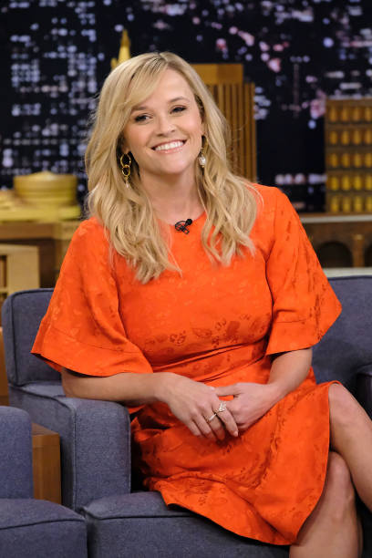 "Reese Witherspoon Visits ""The Tonight Show Starring Jimmy Fallon"":ニュース(壁紙.com)"