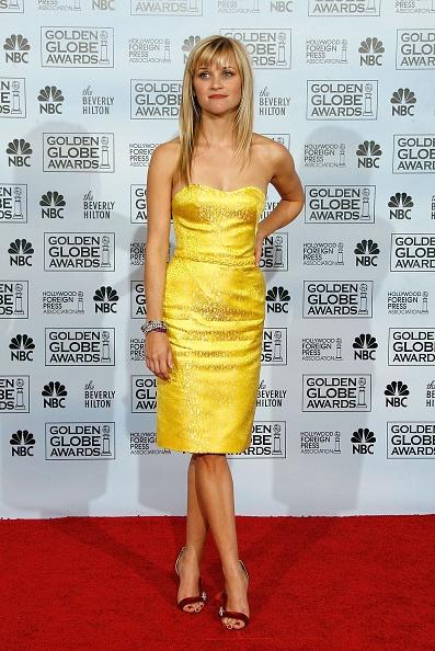 Yellow Dress「The 64th Annual Golden Globe Awards - Press Room」:写真・画像(10)[壁紙.com]