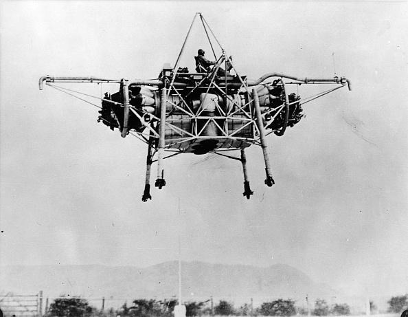 Invention「Flying Bedstead」:写真・画像(2)[壁紙.com]