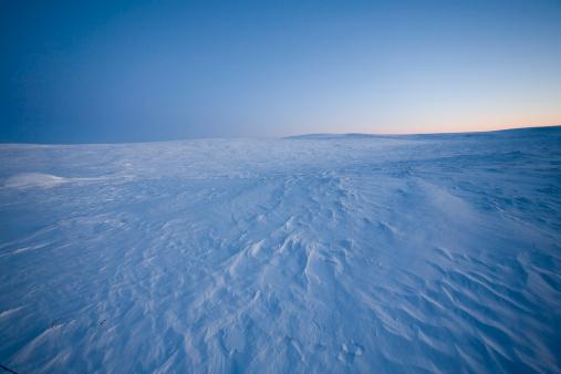 Snowdrift「POV of patterns in snow drifts at dawn.」:スマホ壁紙(1)